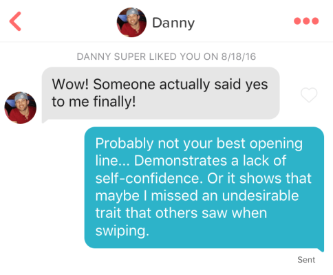 self-deprecating danny